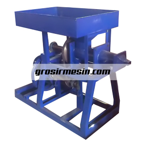 mesin screw press briket