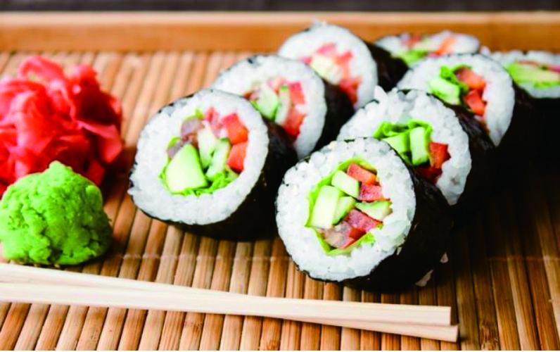 cara bikin sushi