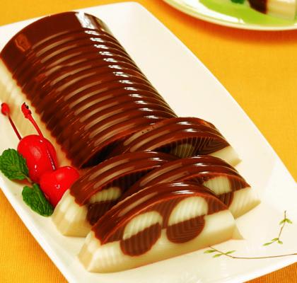 Cara membuat puding coklat