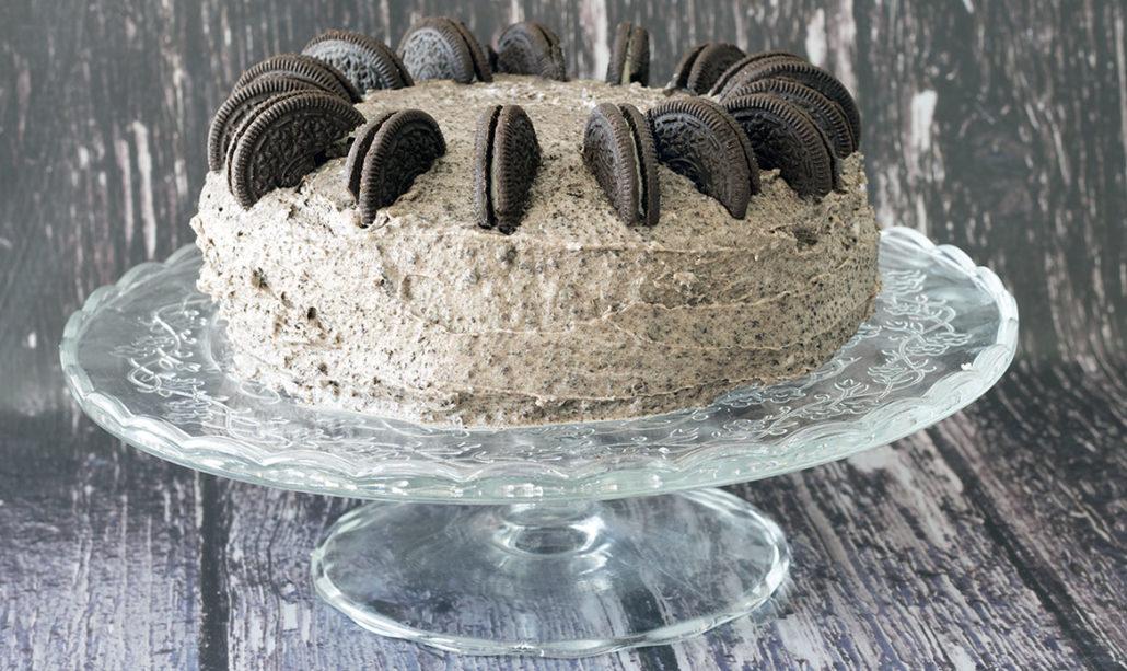 resep cake oreo