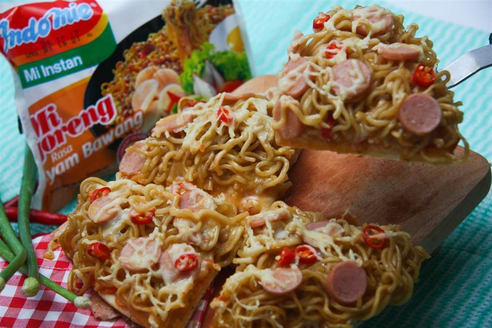 Resep Pizza Mie