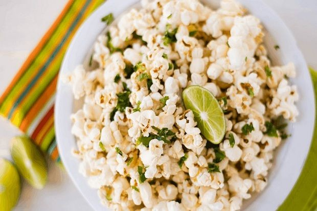 cara membuat popcorn