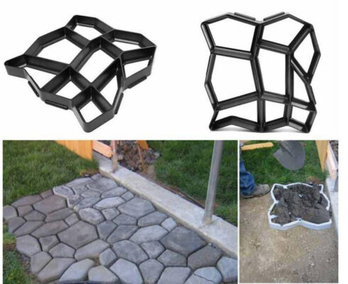 cara membuat paving blocks - cetakan