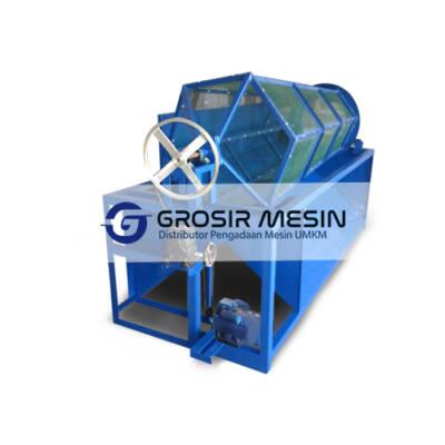 Mesin Pengayak Sampah Organik