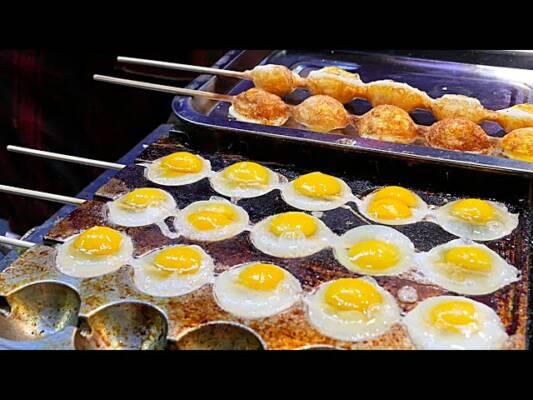 mesin sate telur puyuh