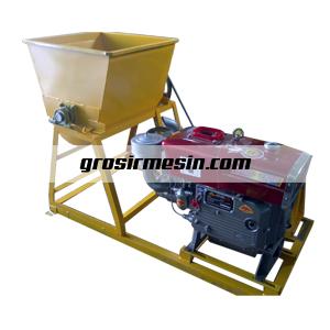 mesin pengaduk bahan pelet